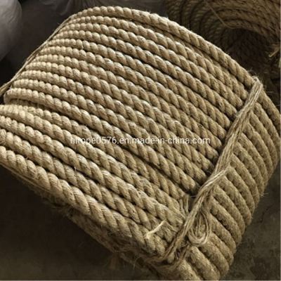 Factory Twist 3/4 Strand Natural Manila Ros Sisal Rope